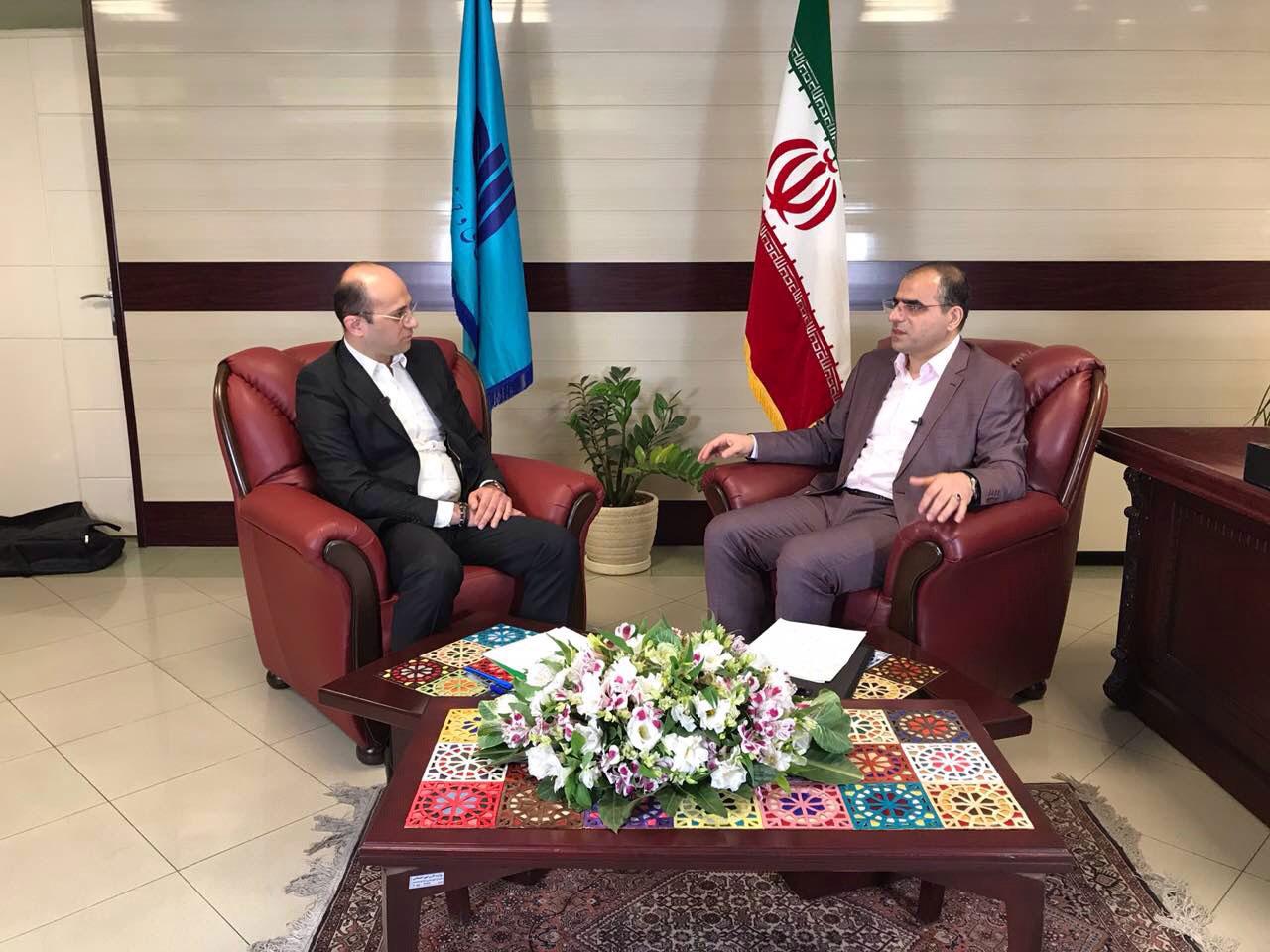 مصاحبه تلویزیون فن و مهارت با مدیرکل فنی وحرفه ای استان تهران